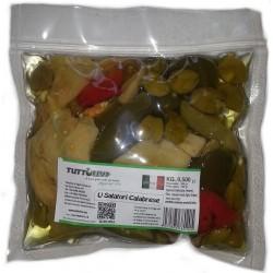 U salaturi in olio busta da kg 0,500