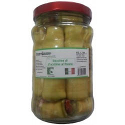 Involtini di zucchine al tonno in vaso da Kg. 1,700