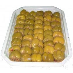 Olive ripiene calabria vaschetta da kg 1,000
