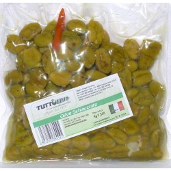 Olive schiacciate denoc. busta da kg 0,500