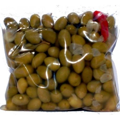 Olive verdi alla giara busta da kg 0,500