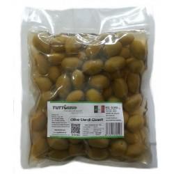 Olive verdi giganti in sal. busta da kg 0,500