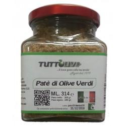 Patè di olive verdi vaso da ml 314