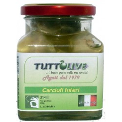 Carciofi interi vaso da ml 314