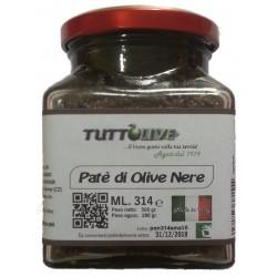 Pate' di olive nere vaso da ml 314