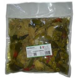 U salaturi in olio busta da kg 2,000