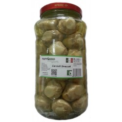 Carciofi spaccati vaso da ml 3100